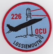 RAF Patch 226 OCU Lossiemouth Jaguar Flight Suit Patch
