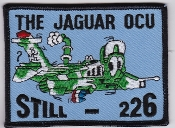 RAF Patch 226 OCU Royal Air Force Jaguar Flight Patch Still 226