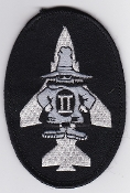 RAF Patch 228 OCU Black Phantom Ops Flight Suit Patch