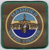 RAF Patch 1 Fighter Squadron Royal Air Force Harrier GR 7 a