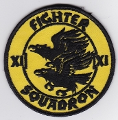 RAF Patch 11 Fighter Squadron Royal Air Force Tornado 1989