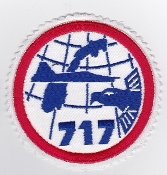 RNoAF Patch Royal Norwegian Air Force 717 Skv Squadron F 5 Recce
