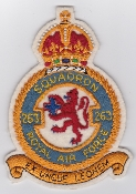 RAF Squadron Patches