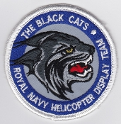 Fleet Air Arm Patch The Black Cats Display Team 702 NAS 2010