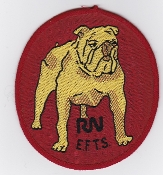 Fleet Air Arm Patch RN EFTS Elementary Flying Training Squadron