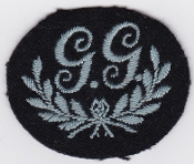 RAF Patch RAF Regiment GG Ground Gunner Patch WWII