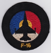 RNLAF Patch Sqn Royal Netherlands Air Force F 16 UK Made