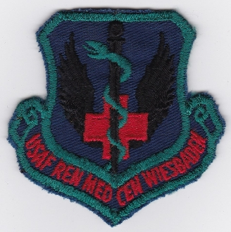 USAF Patch Med USAFE Regional Medical Centre Wiesbaden Patch Sbd