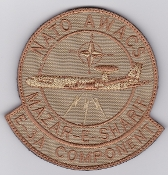NATO Air Force Patch NATO AWACS Mazar E Sharif Patch Afghanistan