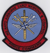 NATO Air Force Patch HQ NATO AWACS Patch Force Command