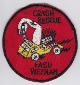 US Navy Aviation Patch Spt Eng Vietnam USN Crash Rescue FASU