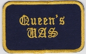 RAF Patch UAS Queens University Air Squadron Patch Bulldog