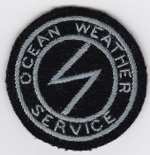 RAF Patch OWS RAF Ocean Weather Service Radio Radar Patch