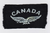 RAF Patch Nationality Title Canada Eagle Facing Left Volunteers
