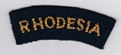 RhAF Patch Rhodesian Air Force Rhodesia Title Badge Bullion 2 70
