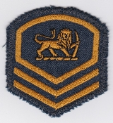 RhAF Patch Rank Rhodesian Air Force Master Sergeant Badge