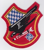 German Air Force Patch 32 Jabog F 104 Starfighter 1b