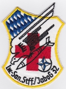 German Air Force Patch 32 Jabog F 104 Starfighter Lechfeld Med