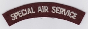 British Army Special Forces Patch Special Air Service Title 1945