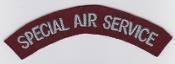 British Army Special Forces Patch Special Air Service Title 1952