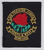 RAF Patch ATC R Region North And West England Air Training Corps