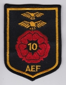 RAF Patch AEF 10 Air Experience Flight Crest Patch RAF Woodvale