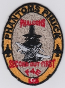 Turkish Air Force Squadron Patch Phantoms Phuck Phalcons F 4E