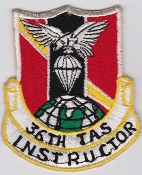 USAF Patch Airlift PAC 36 TAS Tactical Airlift Sqn Instructor