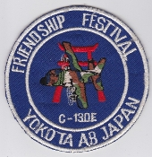USAF Patch Airlift PAC 36 AS Airlift Sqn Friedship Festival