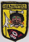 USAF Patch Fighter PAC 80 TFS Tactical Ftr Sqn Headhunters F 105
