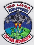 RAF Patch 25 Squadron Royal Air Force Tornado Ground Crew Patch