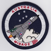 RAAF Patch Sqn Royal Australian Air Force Mirage IIIO