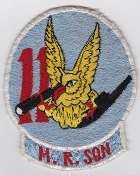 RAAF Patch Sqn Royal Australian Air Force 11 MR Squadron Neptune
