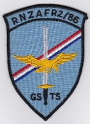 RNZAF Patch Tng Royal New Zealand Air Force GSTS 86 Course