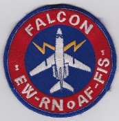 RNoAF Patch Royal Norwegian Air Force 335 Skv Squadron Falcon EW