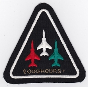 SOAF Patch Sqn Sultan Of Oman Air Force 8 Squadron Jaguar 2000 H