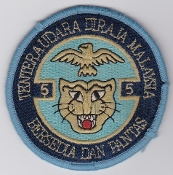 RMAF Patch Sqn Royal Malaysian Air Force 5 Squadron Alouette