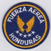 Honduras Patch Honduras Air Force Fuerza Aerea Hondurena FAH