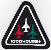 SOAF Patch Sqn Sultan Of Oman Air Force 8 Squadron Jaguar 1000 H