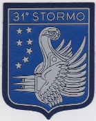 Italian Patch Air Force Aeronautica Militare AM Stormo 31 VIP Tr