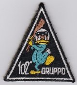 Italian Patch Air Force Aeronautica Militare AM Gruppo 102 F 104