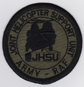 RAF Patch HS Joint Helicopter Support Unit JHSU Chinook Odiham