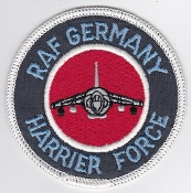 RAF Patch HF RAF Germany Harrier Force 3 Sqn 4 Sqn 20 Sqn