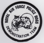 RAF Patch MP Royal Air Force Police Dogs Demonstration Team RAFP