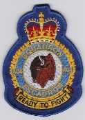 RCAF Patch Sqn Royal Canadian Air Force 404 Squadron Escadron