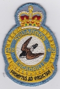 RCAF Patch Sqn Royal Canadian Air Force 412 Squadron Escadrille