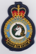 RCAF Patch Sqn Royal Canadian Air Force 449 Squadron Escadrille