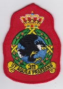 RNLAF Patch Sqn Royal Netherlands Air Force 311 Squadron Crest