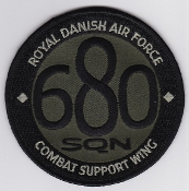 RDAF Patch Wing Royal Danish Air Force Eskadrille 680 Sqn Combat