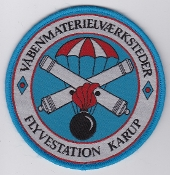 RDAF Patch Station Royal Danish Air Force Karup Armourer Weapons